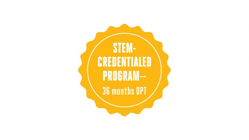 STEM-credentialed program